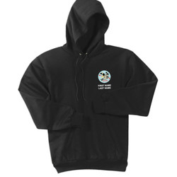 PC90H - T122E001 - EMB - Pullover Hoodie
