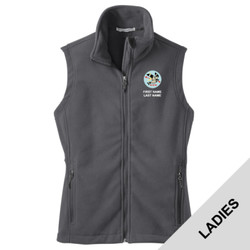 L219 - T122E001 - EMB - Ladies Fleece Vest