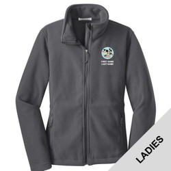 L217 - T122E001 - EMB - Ladies Fleece Jacket