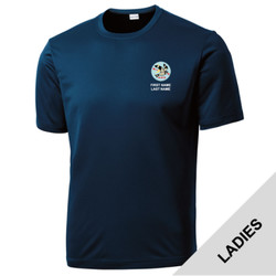 LST350 - T122E001 - EMB - Ladies Wicking T-Shirt